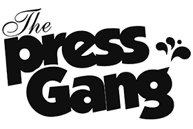 The Press Gang Retina Logo